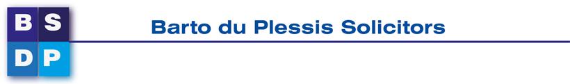Barto Du Plessis Solicitors Logo